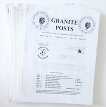 Granite Posts Journal of the New Hampshire Postal History stamps 19 back... - $15.00