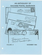 lot machine cancel philatelic literature postal history stamp collecting... - $75.00