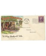 Village Blacksmith vintage postal cover envelope Watertown WI knives tools - ₨4,767.21 INR