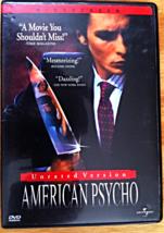 DVD American Psycho - $5.99