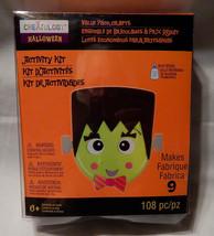 Halloween Creatology Foam Activity Kit 6+108pc Haunted Make 9ea Monster ... - $9.89