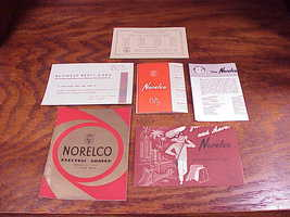 1950's Norelco Electric Shaver SC7759 Instruction Manual and Paperwork, SC 7759 - $5.95