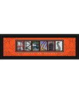 Cleveland Browns Officially Licensed Framed Letter Art - $39.95