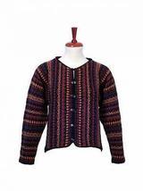 Cardigan,jacket made of Alpaca wool - $185.00