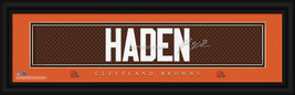 Joe Haden Cleveland Browns Player Signature Stitched Jersey Framed Print - $39.95