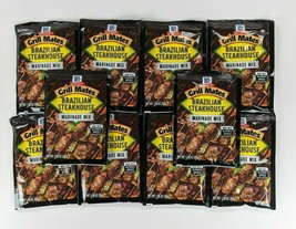 Pack Of 10 Mccormick Grill Mates Brazilian Steakhouse Marinade Mix 1.06 Oz - $44.55