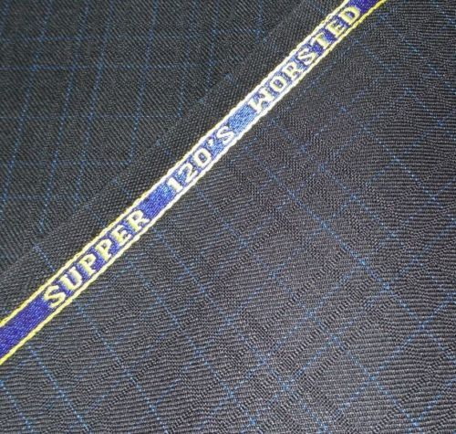 Super 120'S wool suit fabric  6 yard  msrp1650  free shipping  top quality