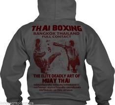 Muay Thai Sweat Shirt Hoodie, full zip - $49.99