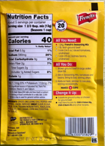 4 Packets of French's Chili-O Seasoning Mix with Onion BB:10/2022 - $13.97