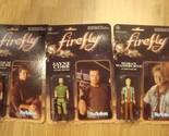 Firefly Malcolm Reynolds, Jayne Cobb & Hoban Washburne Figures Funko ReAction