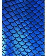 4-Way Stretch Royal Mermaid Hologram Spandex Me... - $16.99