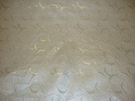 """Swirl Pearl Embossed upholstery Faux vinyl leather fabric per yard 55"""" Wide - $16.95"""