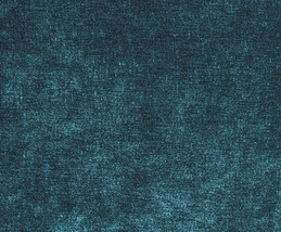 """56"""" Wide Sonoma Teal Solid Velvet upholstery Drapery Fabric per yard - $12.95"""