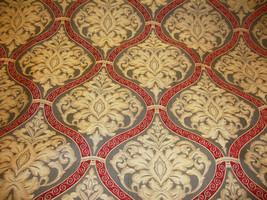 "56"" wide Ruby Damask Roman  Upholstery and Drapery fabric per yard - $19.95"