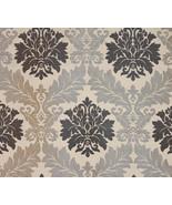 Parisian Jacquard Silver upholstery drapery fab... - $19.95