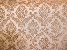 """Archive Shelby 100 Damask velvet Upholstery Drapery fabric by the yard 56"""" Wide - $19.95"""