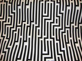 "18""x18"" 4 Pieces Black White ZigZag Flocking textured velvet vinyl Pillo... - $196.00"