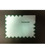 "10-Tyvek 9""x12"" Green& White Self Sealing Mailing Envelopes Quickstrip NEW - $9.00"