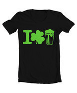 "Women's St. Patrick's Day ""I Shamrock Beer"" Tee - $22.00+"