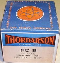 Vintage Thordarson FC 9 TV Focus Coil Replacement Motorola 24-65132A80 NOS - $9.99