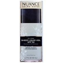 Nuance Salma Hayek Sheer Liquid Veil SPF 50 1.7 oz RARE HTF - $29.99