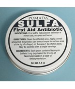Pomada Sulfa First Aid Antibiotic 1.4 oz. Help Prevent Infection in Mino... - $9.75