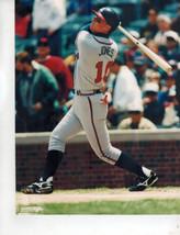 Chipper Jones Atlanta Braves B Vintage 8X10 Color Baseball Memorabilia Photo - $4.99
