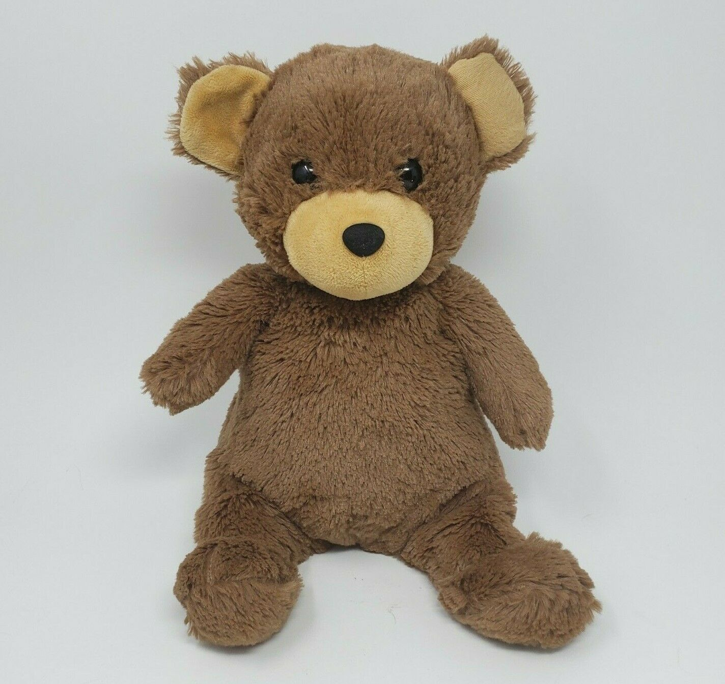 "Primary image for 12"" MANHATTAN WOODLANDERS LUCY TEDDY BEAR BROWN STUFFED ANIMAL PLUSH TOY 2017"