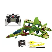 Top Race® F22 Fighter Jet 4 Channel Rc Remote Control Quad Copter RTF Gr... - $35.85