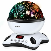Moredig Music Lamp Projector 360º Rotating With Control Remote And Timer - $199.68