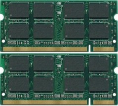 2GB 2x1GB SODIMM PC2-5300 Laptop Memory for Acer Aspire One 532h TESTED