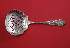 """Lily By Watson Sterling Silver Nut Spoon Bon Bon Large Heavy 6"""" Pierced ... - $129.00"""