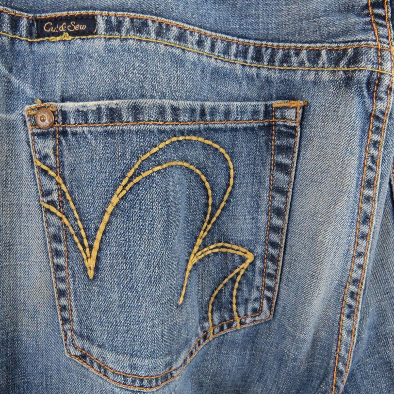 5b652448 MARC ECKO Cut & Sew Standard Cut Embroidered Jeans Men's Size 36 ...