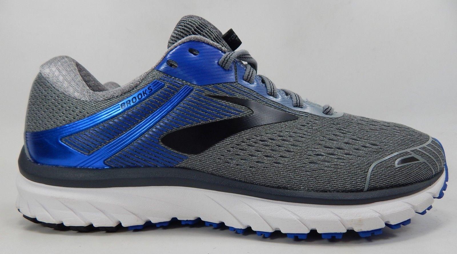 Brooks GTS 18 Size: US 9.5 M (D) EU 43 Men's Running Shoes Gray Blue 1102711D015