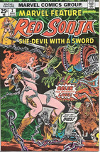Marvel Feature Comic Book 2nd Series #3 Red Sonja 1976 FINE - $4.50