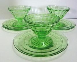 Hocking Block Optic Cone Sherbet Sets - 3 sets - $60.00