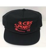 Vintage Rare CBS Sports Golf 1992 Masters Tournament Black & Red Promo H... - $34.25