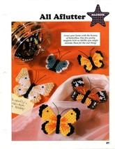 Plastic Canvas Patterns - All Aflutter - Magnets - All-Stars - $1.88