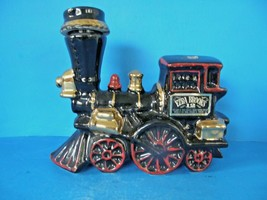 Vintage Ezra Brooks Kentucky Straight Bourbon Whiskey Empty Locomotive Decanter - $39.59
