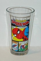 Marvel Comics Spider-Man Comic Strip Panels 16 ounce Pint Glass, NEW UNUSED - $6.89