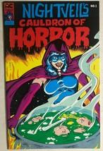 Nightveil's Cauldron Of Horror #1 (1989) Ac Comics B&W Bill Black Gga Fine - $12.86