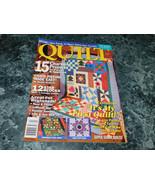 Quilt Magazine Winter  2000 Vol 22 No 4 I Spy Lattice - $2.99