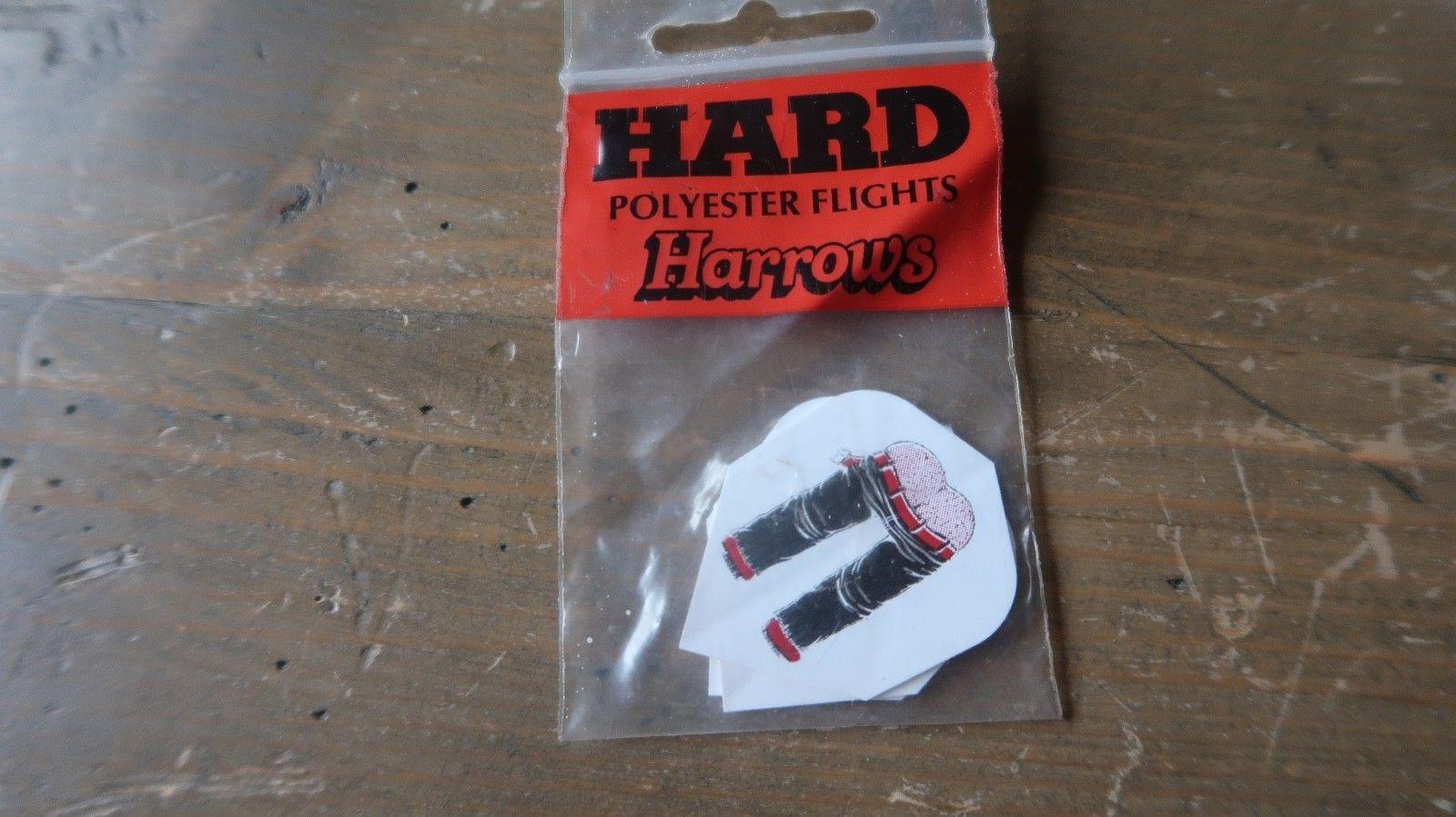 3 NEW Vintage Dart Flights HAIRY BUTT MOONING