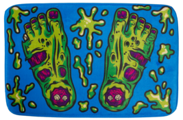 Sourpuss Zombie Feet Horror Punk Gothic Halloween Witchy Rug Bath Mat SP... - $22.99