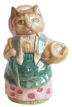 Beatrix Potter Beswick Figurine Collectible Cousin Ribby Cat Animal Brow... - $29.95