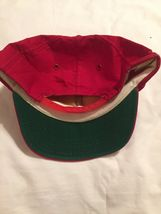 Vintage Tonkin Patch Hat Foam Red Trucker Snapback Cap Baseball Made In USA image 3