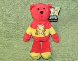 "Limited Treasures Spain Eurobear B EAN Bag Teddy 2002 With Coin Plush 9"" + Tag Toy - $9.90"