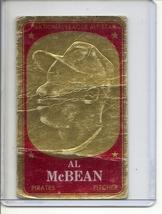 (B-2) 1965 Topps Embossed #14: Al McBean - damaged - $1.00