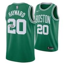 Gordon Hayward Boston Celtics Signed Green Nike Swingman Jersey Fanatics. - $391.05