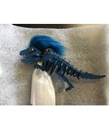 NWT Coach 58499 Mohawk Rexy Dinosaur Bag Charm KeyChain Denim blue small - $235.00